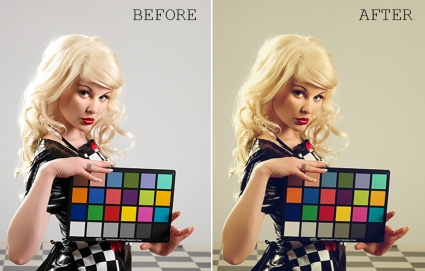 Photoshop touchup actions