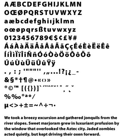 50+ Fonts for Big, Bold Headlines - DesignM ag
