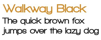 Walkway Black