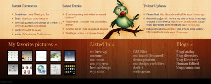 Blog footers