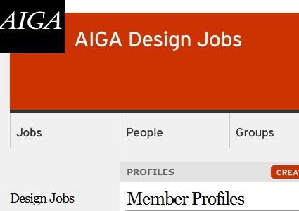 Web design and development job boards