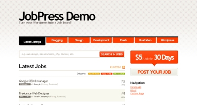 JobPress Theme