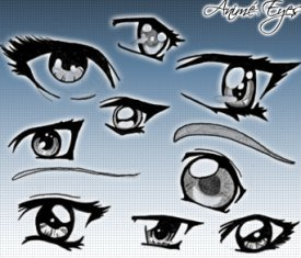 anime eyes