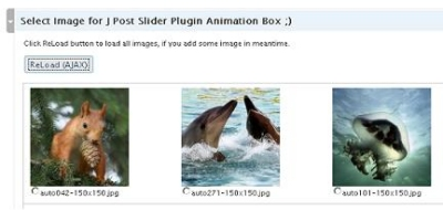 J Post Slider Plugin