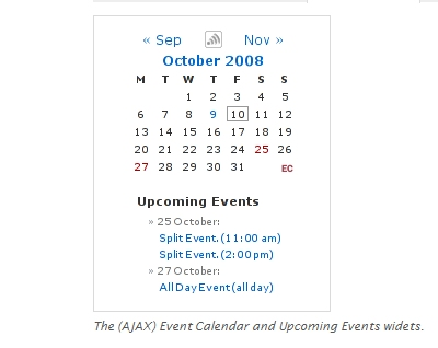 Events Calendar 3
