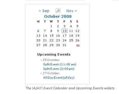 Events Calendar 3