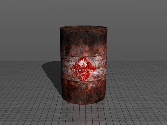 Realistic-Flammable-Barrel