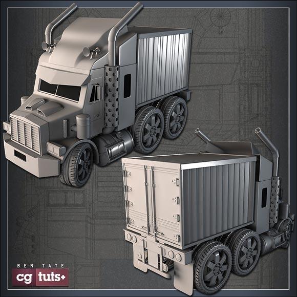 mini-semi-truck
