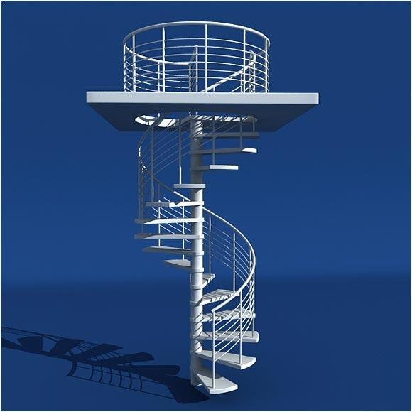 modern-spiral-stair-case