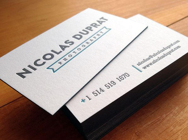 32 new business card designs designm letterpress business cards photography reheart Images
