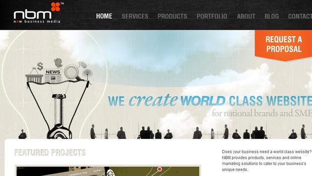 35个国外优秀的网页设计工作室和作品集展示网站