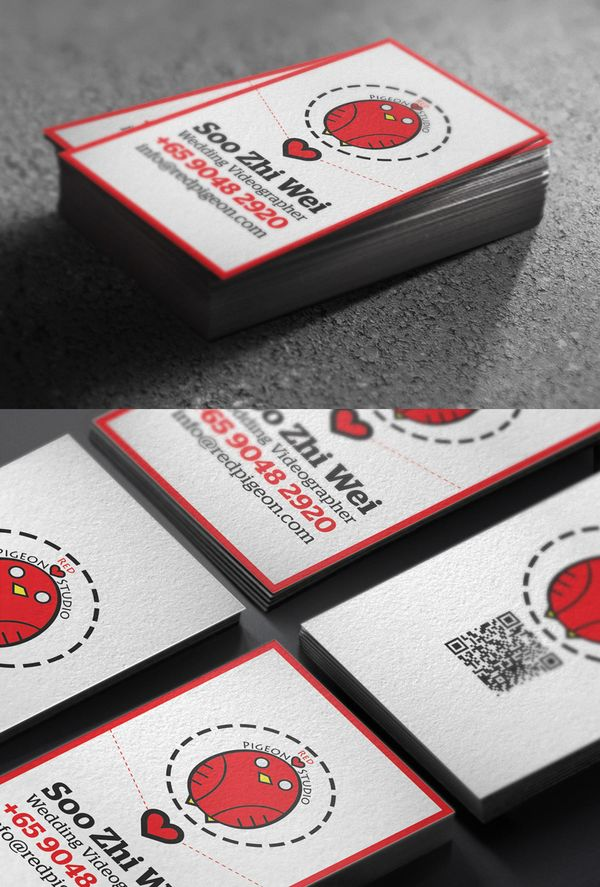 32 new business card designs designmag for Game designer business cards