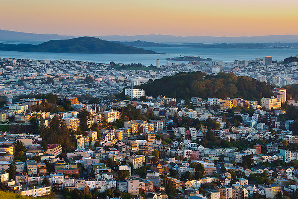 Featured Image Shot - Sunrise over San Francisco, CA