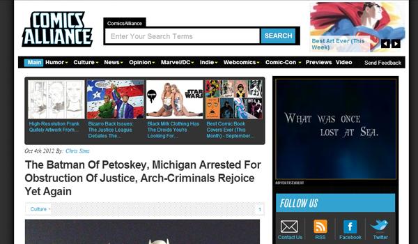 33 Video Game Blogs, Fansites, and Website Layout Designs - Web Design