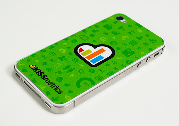 KISSmetrics iPhone Skin