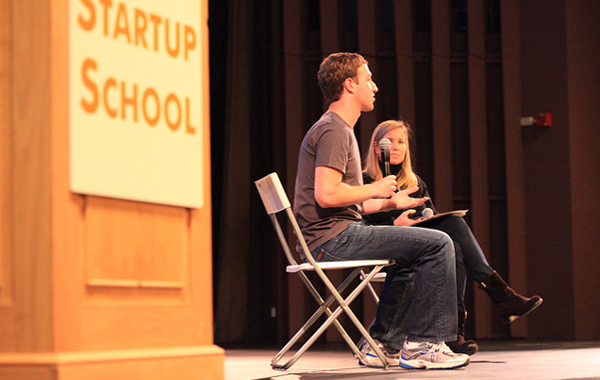 Startup School speaker Mark Zuckerberg Facebook CEO Founder