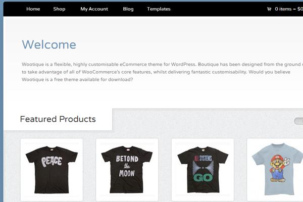 Wootique eCommerce online boutique theme