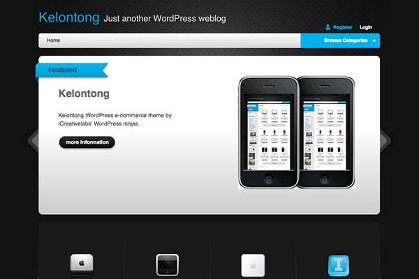 Kelontong WordPress freebie theme download