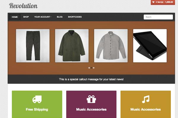 Wordpress free storefront theme download revolution