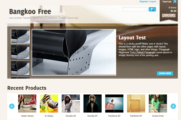 Bangkoo freebie WordPress theme download