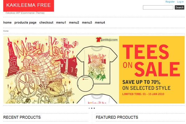 download free WordPress theme eCommerce