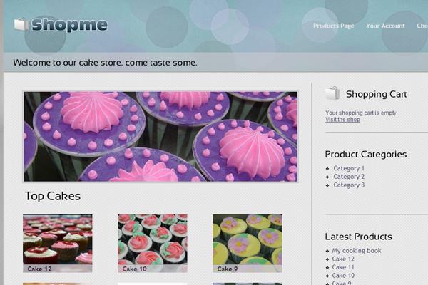 ShopMe freebie WordPress download theme