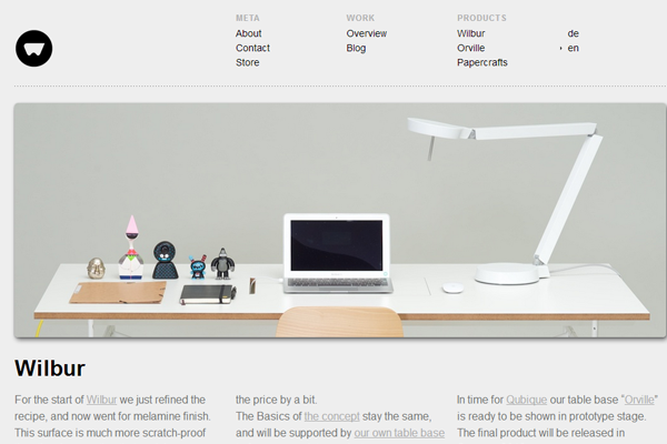 portfolio layout minimalist website design inspiration