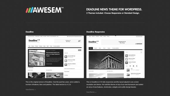 Siti wordpress per news e riviste online di marzo 2013 for Riviste di architettura on line