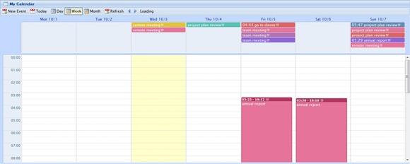 Calendar Design Using Jquery : Useful jquery calendar and date picker plugins idevie