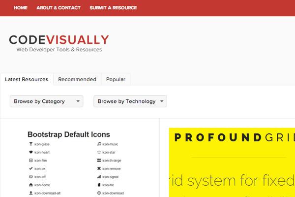 screenshot code visually launch social media webdev resources