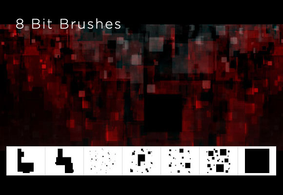 8 Bit Brushes