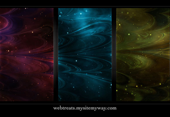 Seamless Abstract Nebula Textures