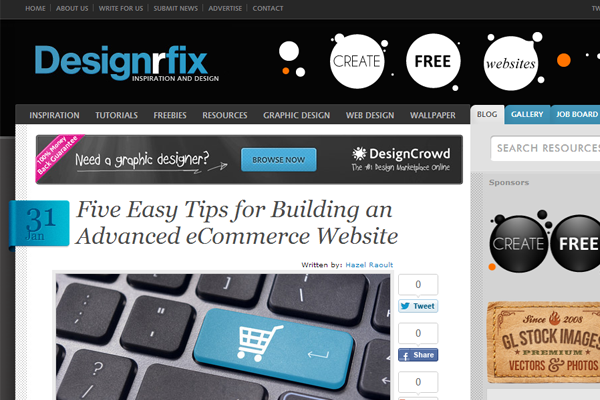 100 Best Web Design Blogs - DesignM.