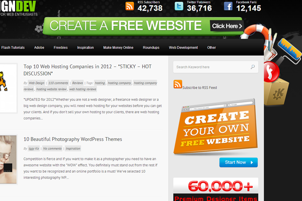 web design dev tutorials articles magazine blog