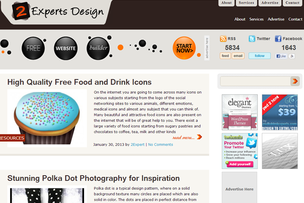 expert web design blog magazine articles