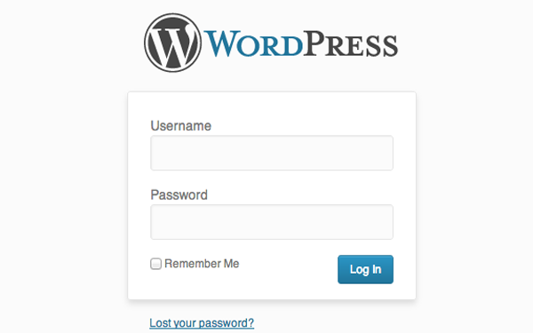 wordpress login form custom css php howto