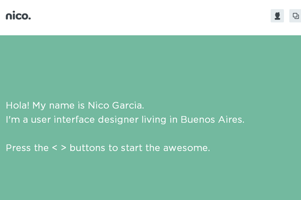 nico garcia user interface designer portfolio