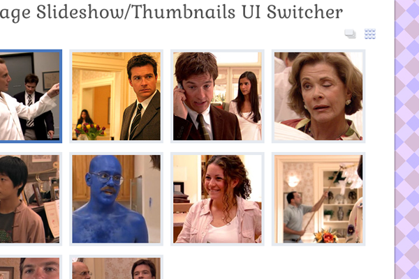 jquery thumbnails slideshow image slider switcher preview