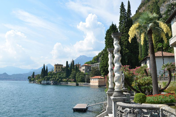 monastero italy lake como overlooking view