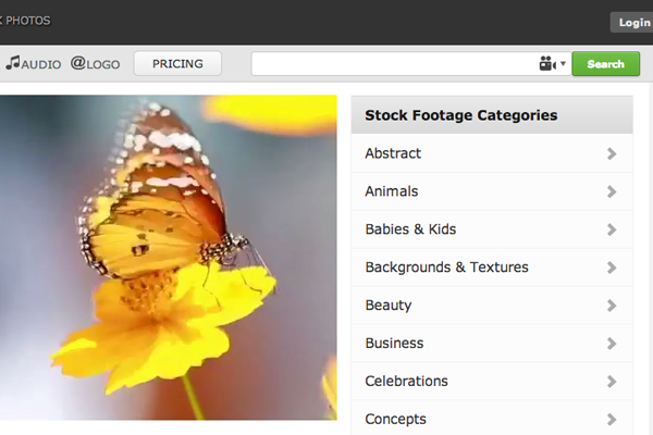 123rf website footage stock videos homepage graphics premium