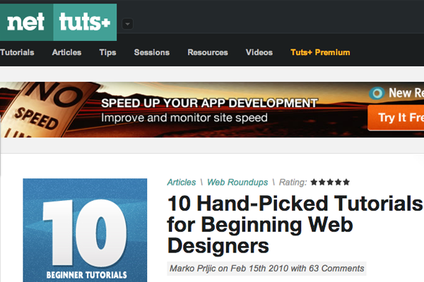 best top tutorials webdesigners beginners