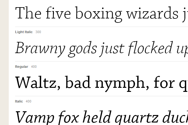 30 Beautiful Typekit Web Fonts to use in Design Projects - DesignM ag
