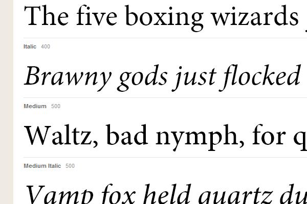 minion pro typekit web font gallery