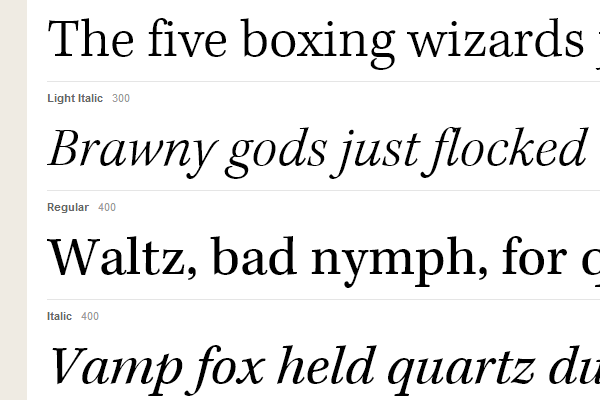 kepler std serif webfont captions