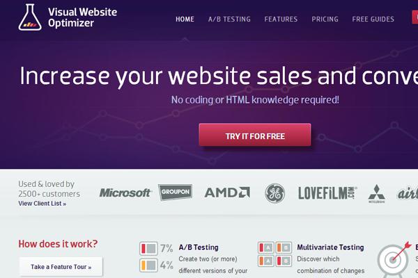 visual website optimizer vwo branding interface