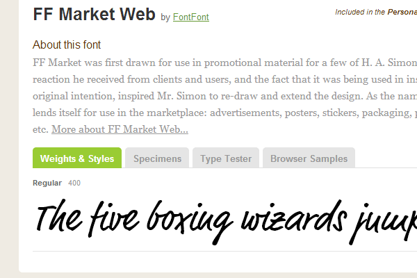30 Beautiful Typekit Web Fonts to use in Design Projects