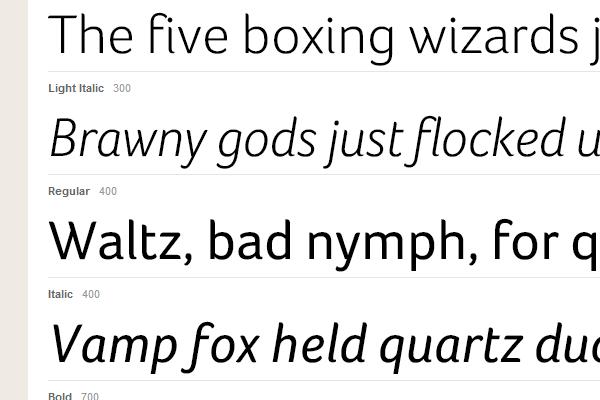 sans-serif typekit gallery inspiring webfonts