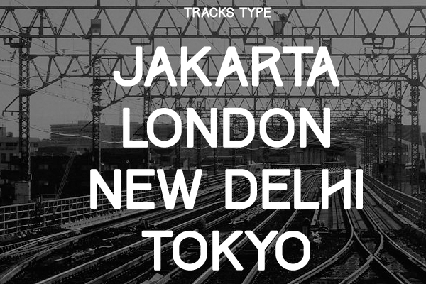 tracks free web font download typography