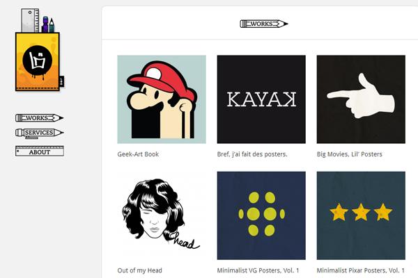 boris lechaftois website designer portfolio