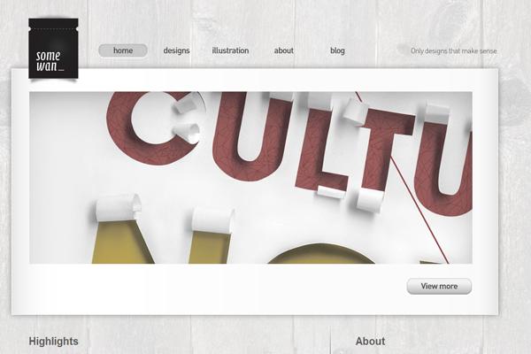 quek teng wan portfolio website layout